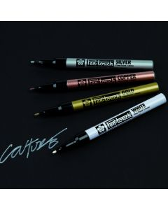 Sakura Slim Pen-Touch Metallic Markers. Assorted Class Pack of 48