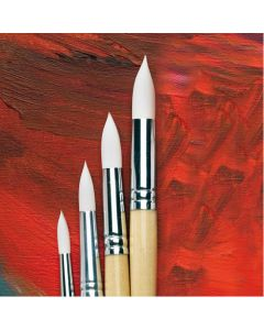 Specialist Crafts Essential Round Synthetic Detail Brush Set