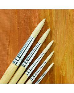 Specialist Crafts Essentials Long Handled Hog Round Brushes
