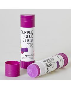 Specialist Crafts Purple Glue Sticks
