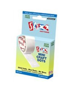Mini Glue Dots. Pack of 300