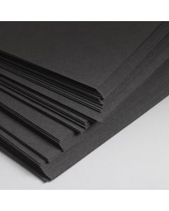 Recycled Black Card