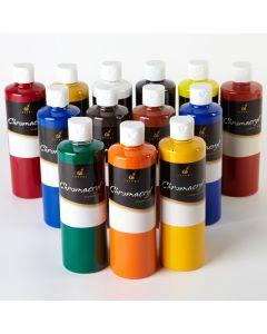 Chroma Chromacryl Acrylics 500ml