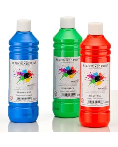 Specialist Crafts Premium Readymixed Paint - 500ml Bottles