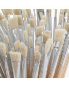 Hog Bristle Art Brushes Pack