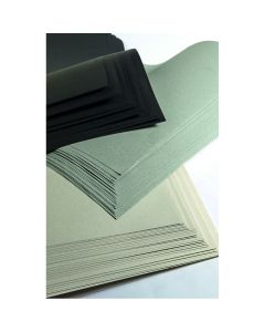 Recycled Premium Sugar Paper - Black & White