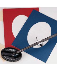 Logan 201 Oval & Circle Cutter & Spare Blades