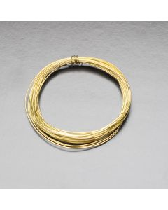 Brass Wire 0.45mm dia. x 3m Coil