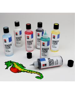Marabu Window Colour Starter Kit