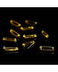 Brooch Pins Brass Pack