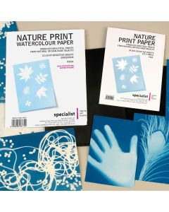 Specialist Crafts Nature Print Watercolour Paper Pack