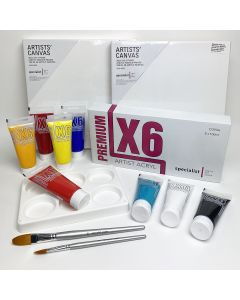 Paint On Canvas Starter Kit