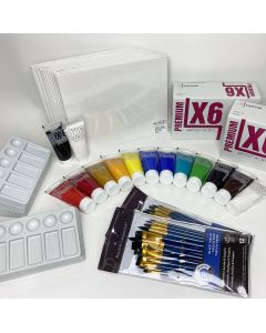 Acrylic Painting Kit (20 students)