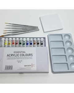 Miniature Canvas Painting Kit
