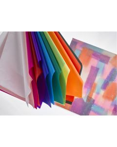Coloured Tissue Paper Assortment. Pack of 130