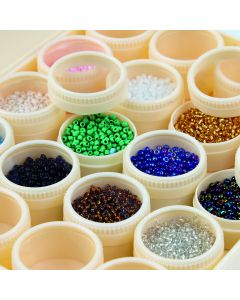 Seed Beads Large Selection Tray