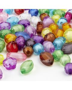 Plastic Crystal Beads