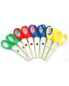 All Plastic Safety Scissors Pack