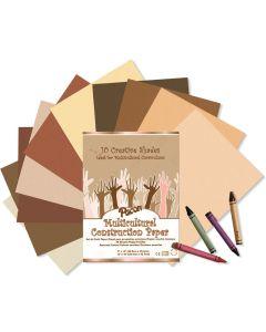 Skin Tones Construction Paper_K575