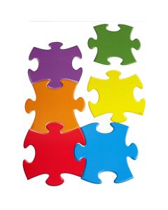 Puzzle Piece Display Shapes