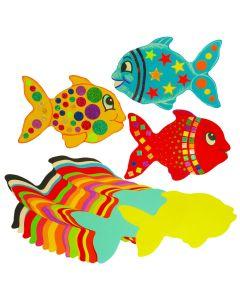 Jumbo Paper Fish Shapes