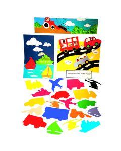Transport Paper Shapes