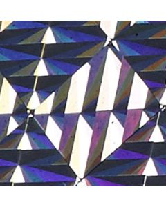 Self-Adhesive Holographic Foil - Silver