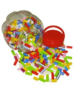 Straw Beads 125g Bag