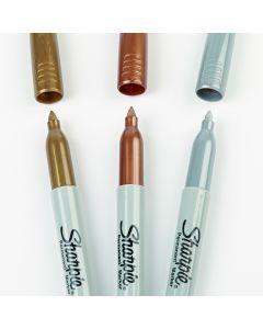 Fine Sharpie Markers Metallics Set
