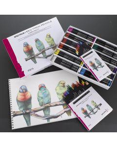 Spectrum Very-Thick Colour Pencil Sets