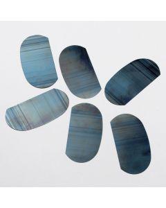 Steel Kidney Palette. Each