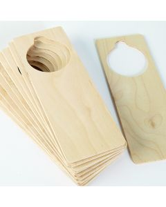 Door Handle Tag 230 x 80mm. Each