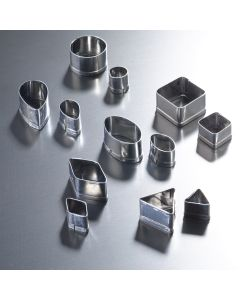 Mini Metal Cutters. Pack of 12