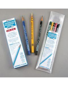 Underglaze Pencils - Assorted. Set of 6