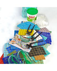 20mm Glass Mosaics Class Pack