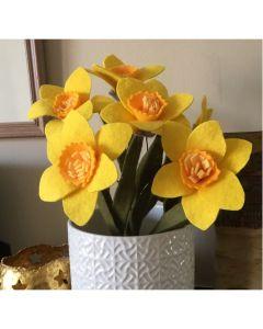Modelling Felt - Daffodils