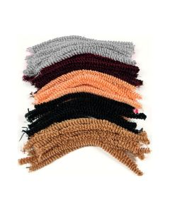 Loopy Pipe Cleaners Hair Colours