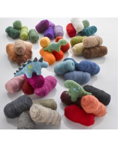 Tonal Felting Wool Assorted Set