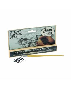 Joseph Gillot Mapping Pen Set