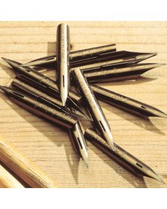 Traditional Pen Nibs. Pack of 12