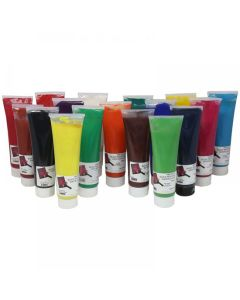 Premium Block Printing Watercolour Assortment. Pack of 17