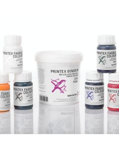 Specialist Crafts Printex Fabric Colours 60ml. Set of 6