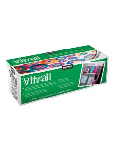 Pebeo Vitrail 45ml Assorted Set of 10