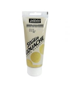 Pebeo Studio Gouache Metallics 100ml - Gold