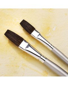 Specialist Crafts Premium Short Handled Flat Pony Brushes